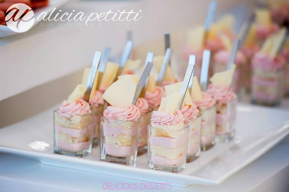 layered dessert cups